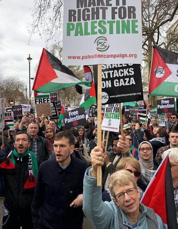 راهپیمایی مردم لندن در حمایت از فلسطین (Pro-Palestinian Rally In London)